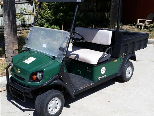 2012 Gas EZGO Cushman 1200 Hauler Utility Golf Cart Cushman Golf Cart Logo on ez go golf logo, bad boy golf logo, club car golf logo, john deere golf logo,