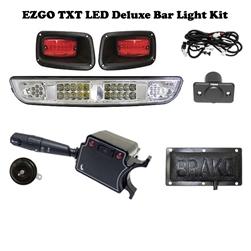 Ezgo Txt Led Bar Headlight Street Legal Kit Lgt 622l